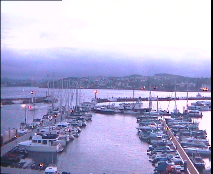 View from Torquay harbour webcam